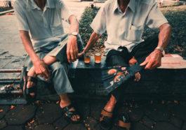 Nét văn hóa trà đá vỉa hè đất Hà Thành