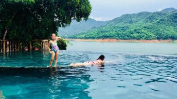 Sững sờ trước vẻ đẹp villa Mai Châu Hideway nằm giữa lòng hồ Hòa Bình