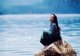 Đôi khi chỉ cần bản thân cảm thấy bình yên là đủ lắm rồi