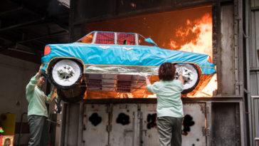 Con đốt ô tô ba có nhận được không?